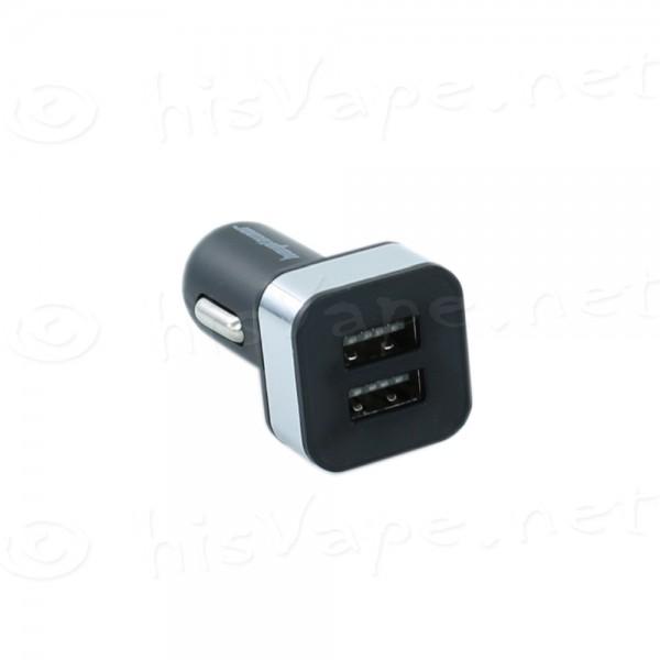 DUO 2000mAh USB Car Lader