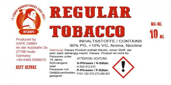 Regular Tobacco Blend