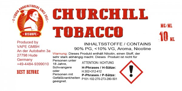 Churchill Tobacco Blend