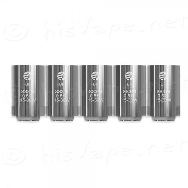 5 x Joyetech BF Ersatzverdampfer Cubis / AIO 0,5 Ohm