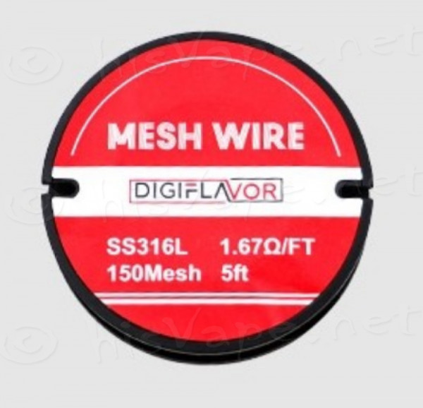 Digiflavor 150 Mesh Wire SS316L