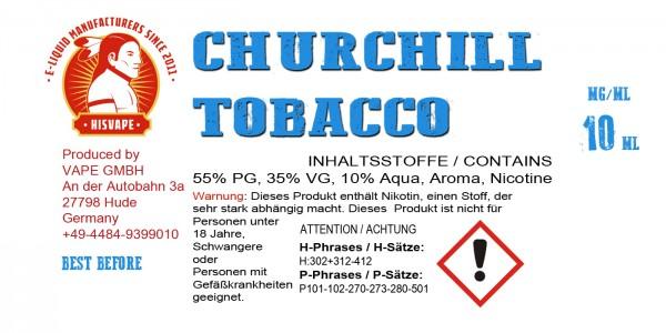 Churchill Tobacco Blend Smooth