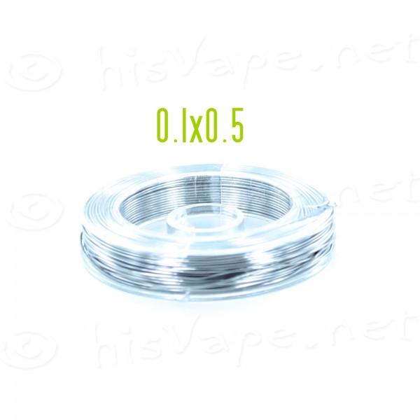 Kanthal Draht 0.5x0.1mm 20 Meter #29