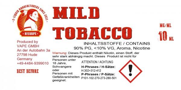 Mild Tobacco Blend