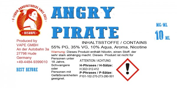 Angry Pirate Smooth