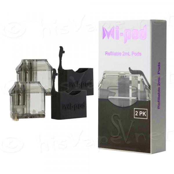 2 x Ersatzpod Smoking Vapor Mi-Pod