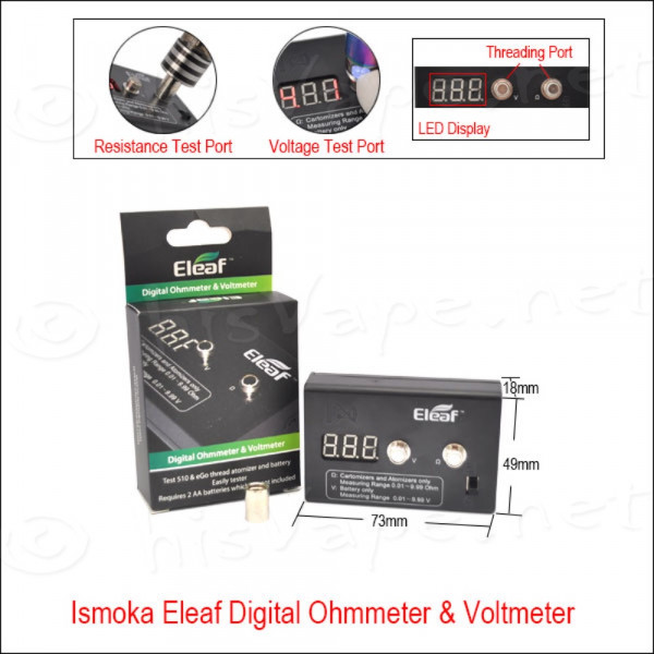 Digitales Ohm-/ Voltmeter